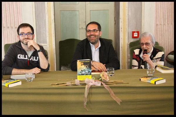 Con Mariano Sabatini ed Elda Lanza