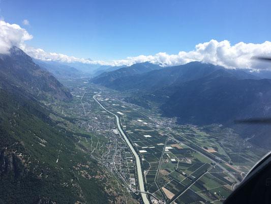 La vallée du Rhône