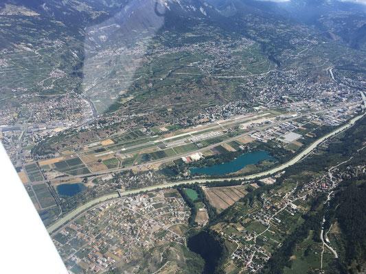 L'aéroport de Sion