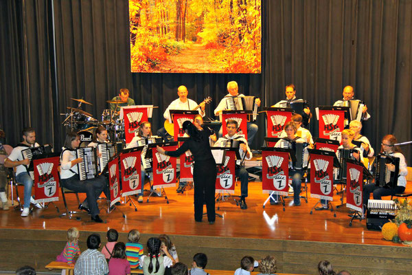 Das 1. Orchester der HSG Oberboihingen.