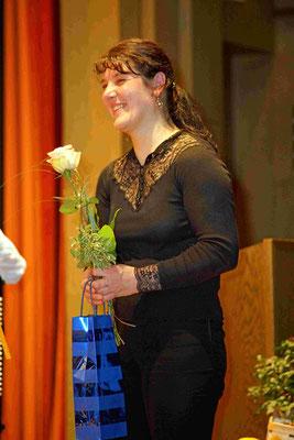 Unsere Dirigentin: Frau Chynko.