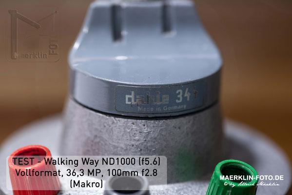 Filtertest, Walking Way ND 1000
