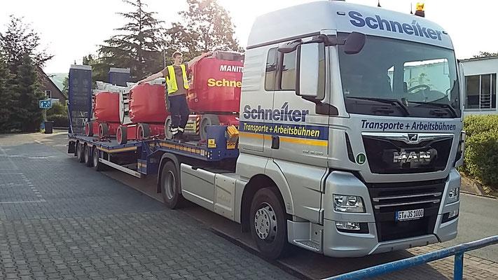 Schneiker Hubarbeitsbühnen mieten für Einsatz in Schloß Holte-Stukenbrock