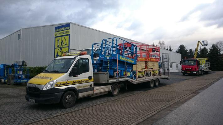 Schneiker Hubarbeitsbühnen mieten für Einsatz in Bad Rothenfelde