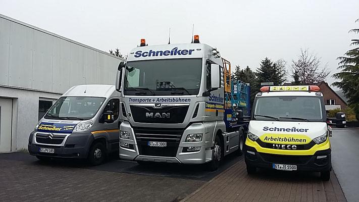 Schneiker Hubarbeitsbühnen mieten für Einsatz in Halle (Westfalen)