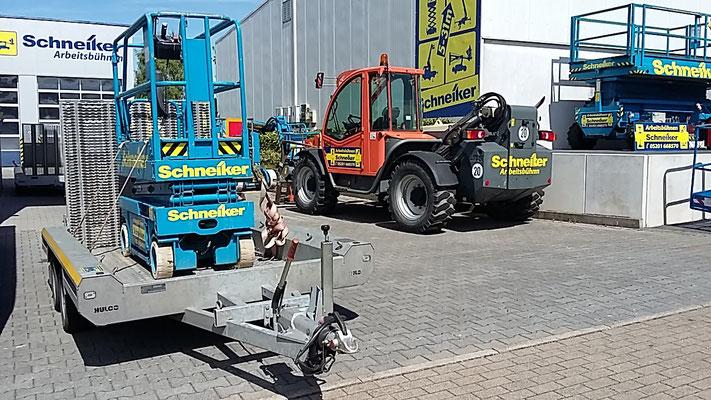 Schneiker Hubarbeitsbühnen mieten für Einsatz in Rheda-Wiedenbrück