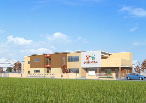 建築パース・保育園・CGパース