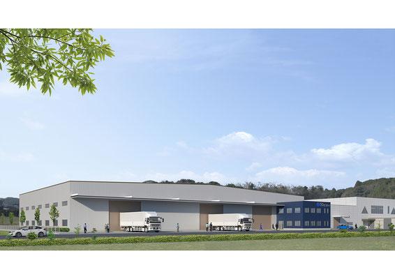 建築パース・工場・CGパース