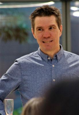 Organisator und Redaktionsleiter Jens Stubbe