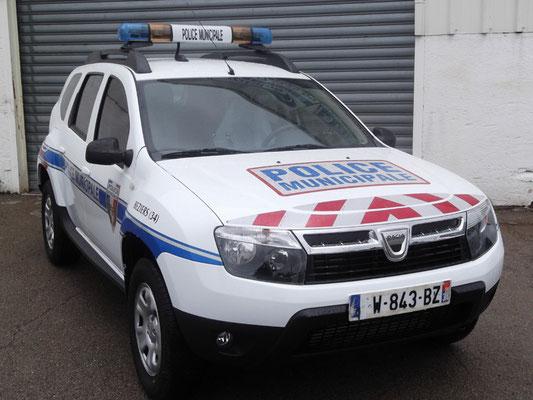 Véhicule prioritaire police Eas Automobiles