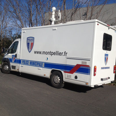 Véhicule police Municipale Eas Automobiles