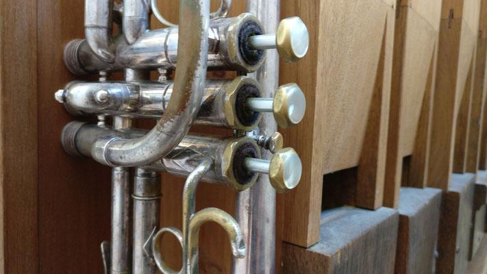 Es-Trompete und Orgel by Damaris Richerts