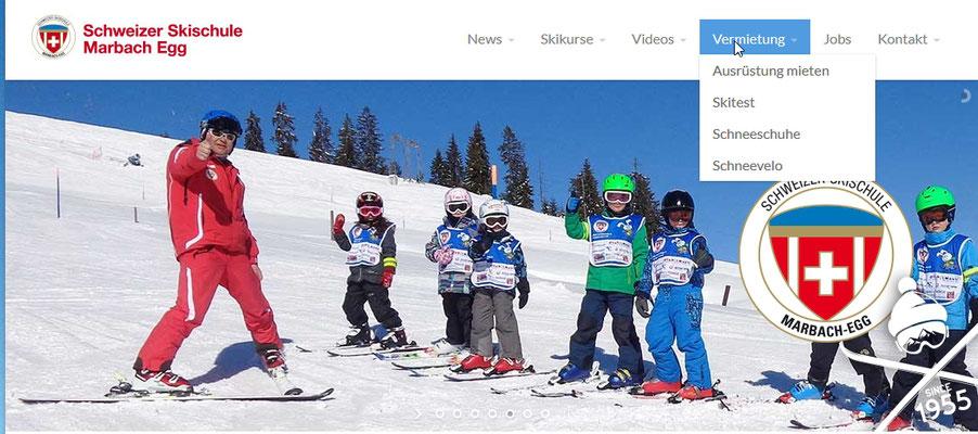 Skifahren lernen
