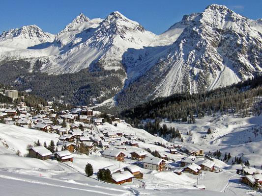 Skifahren Graubünden - Ihr  Skigebiet mit Werbung auch auf Skiurlaub Schweiz