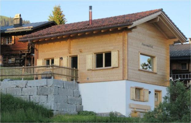 Chalet bauen Graubünden - Lagerhaus mieten Graubünden