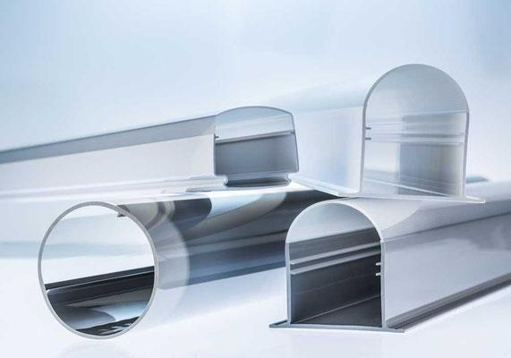 ATHEX-Profile für einteilige LED Leuchtengehäuse
