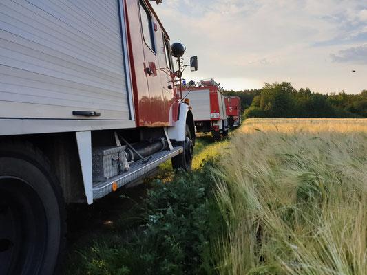 Schlauchwagen 2000, TLF und LF Soderstorf beim Monatsdienst