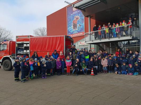 Kinderfeuerwehren im Kino Lüneburg, Jan 2018