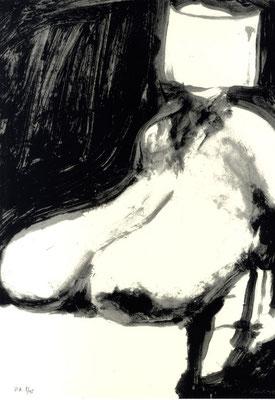 20.- Frankenstein,  Serigrafía de  43 x 31 cms.