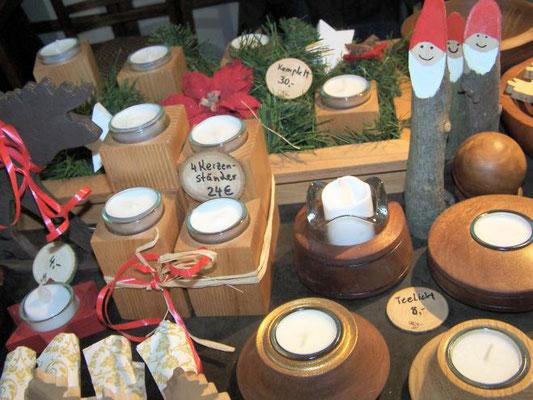 Frohe Weihnachten - Holzleuchter und vieles mehr!