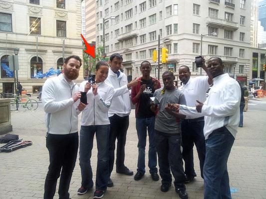 Samsung in Philadelphia May 2012