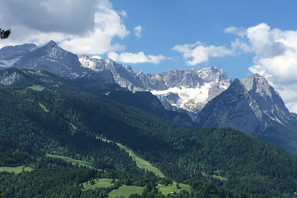 Atemberaubende Landschaft in Garmisch-Partenkirchen