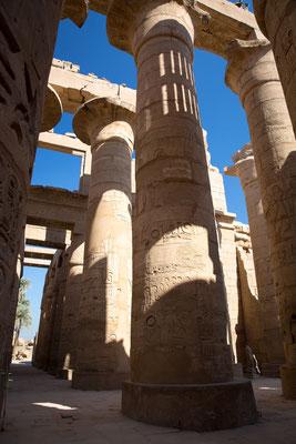 Im Tempel von Karnak (Luxor)