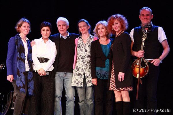 Fr. Dr. Arning, Renan Demirkan, Prof. Beuth, Kerstin Thielemann, Marita Breuer, Heike Trinker, JP Weber