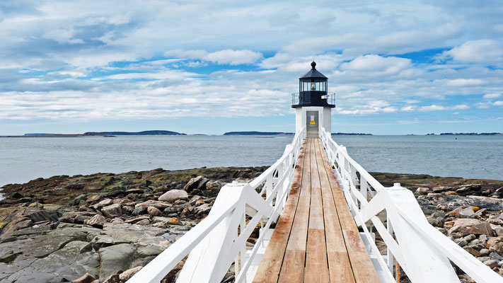 USA - Maine - Mashall Point Light - Movieszene Forrest Gump