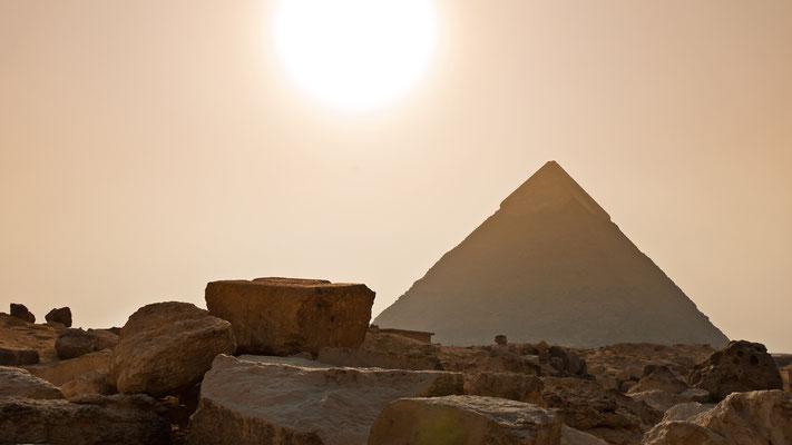 Ägypten - Kairo - Gizeh - Pyramiden