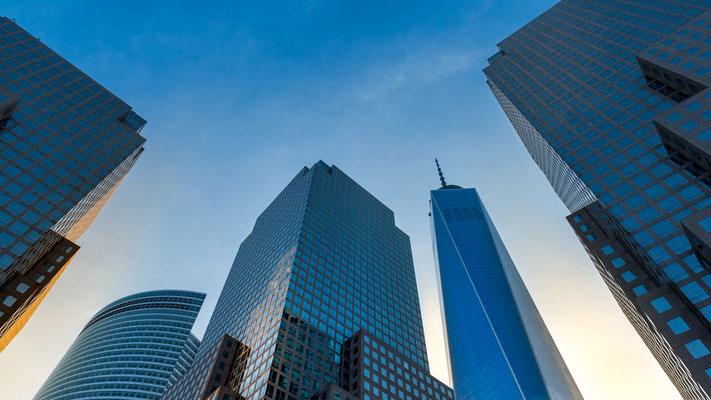 New York City - Cityscape - One World Trade Center - Ground Zero