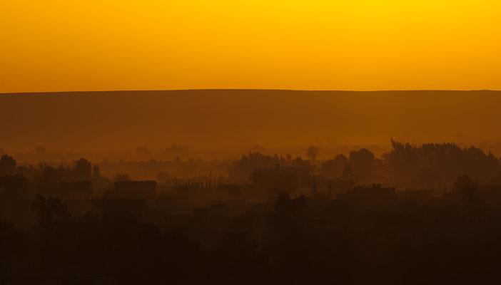 Ägypten - Baharya Oase - Sonnenuntergang