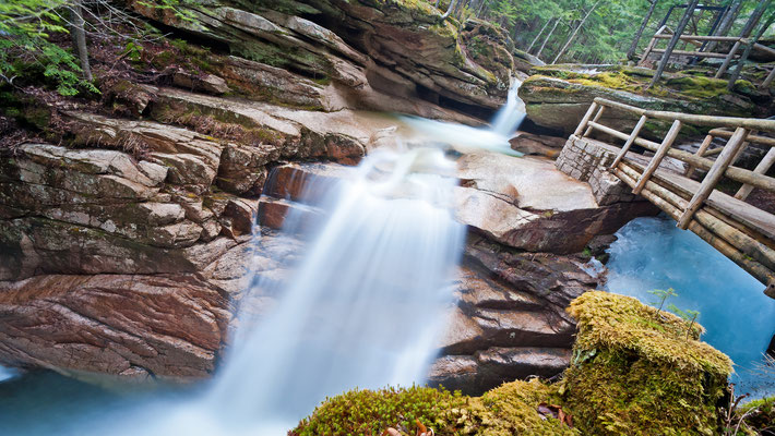 USA - New Hampshire - Sabbady Falls