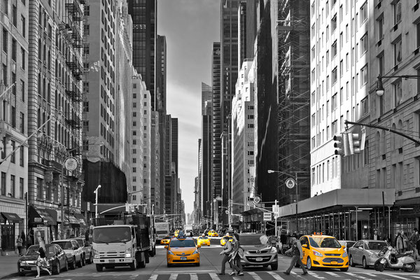 New York City - Cityscape - Yellow Cab
