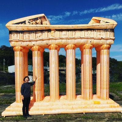 ◇パルテノン神殿(ギリシア・アテネ)H4000mm×W5000mm