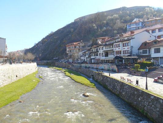 Die Stadt Prizren im Kosovo