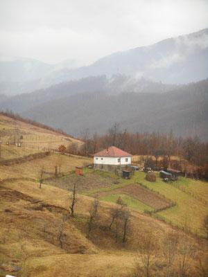 Das Haus der Großeltern von Almedin
