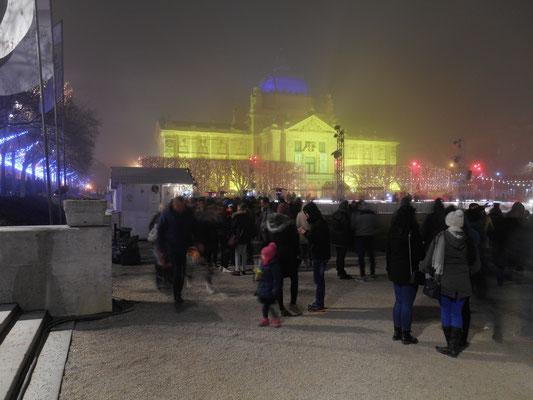 Zagreb in Winterstimmung