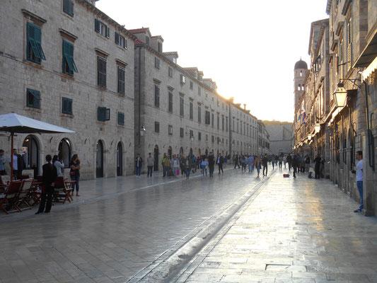 Die Altstadt von Dubrovnik (Kroatien)