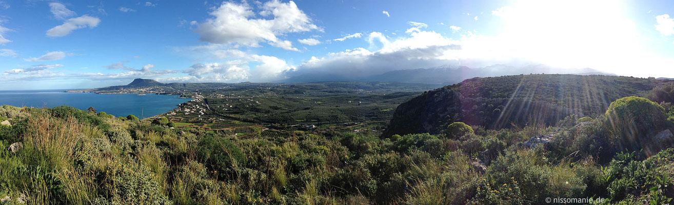 Panorama nach Osten