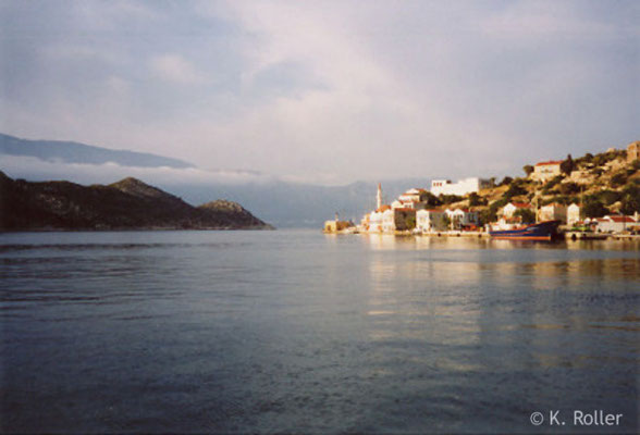 Kastellorizo: Hafeneinfahrt