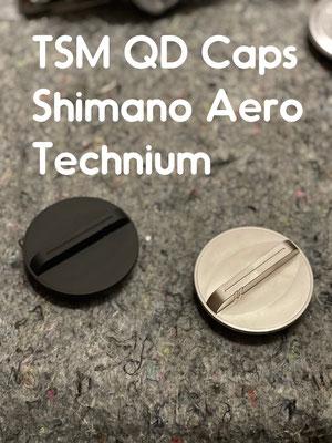 TSM QD Caps Shimano Aero Technium
