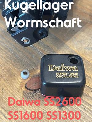 Wormschaft Kugellager Daiwa SS2600 SS1600 SS1300