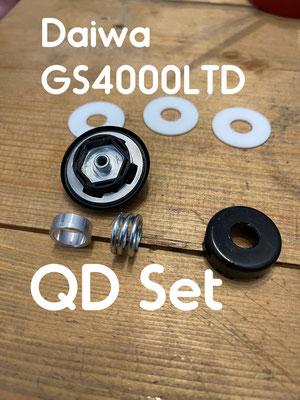 Daiwa QD Set 4000LTD