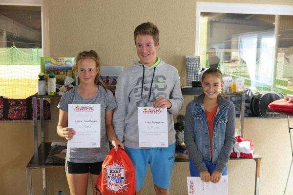 Jugend: Leonie, Lukas und Jana