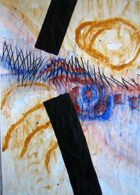 situation:aist 4; mt auf papier, 207x150, 2011