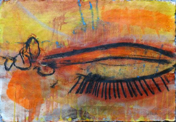 sinai 1, #9, 2013,  mm on paper, 38x55 cm