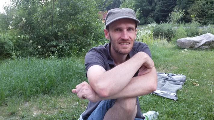 der Bauer Klaus Steininger