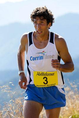 """""""Stammgast"""" Antonio Toninelli, Italien, immer auf dem Siegertrepperl"""