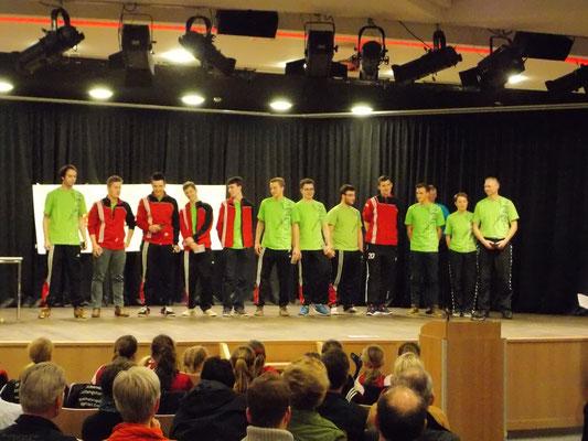 1. Platz männliche A-Jugend